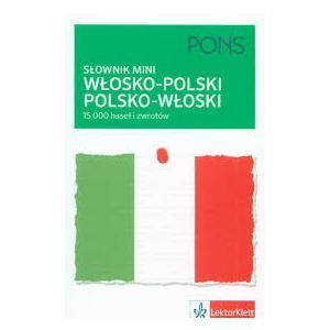 PONS Słownik Mini Włosko-Polsko-Włoski Nowy