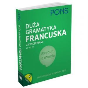 PONS Duża gramatyka francuska z ćwiczeniami OOP