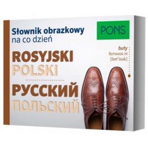 Słownik Obrazkowy na Codzień Rosyjski - Polski