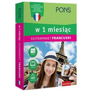 Francuski w 1 Miesiąc. Ekstrapakiet z 2 Tablicami Językowymi i Kursem Online