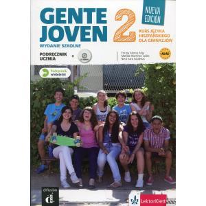 Gente Joven 2. Nueva Edicion. Podręcznik Wieloletni + CD. Wydanie Szkolne