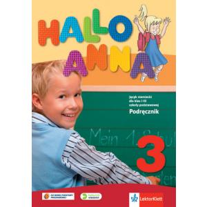 Hallo Anna 3. Podręcznik Wieloletni + CD