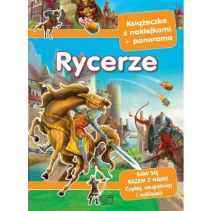 Panoramy z naklejkami Rycerze i zamki