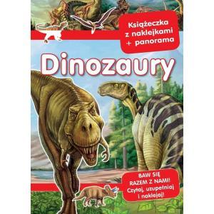 Panoramy z naklejkami Dinozaury
