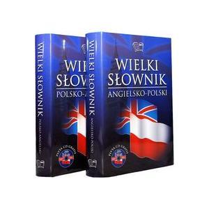 Wielki słownik angielsko-polski polsko-angielski. Tom 1 i 2 + CD