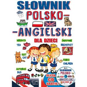 Słownik polsko-angielski dla dzieci + CD