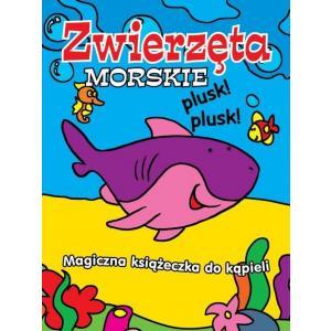 Magiczna książeczka do kąpieli Zwierzęta morskie