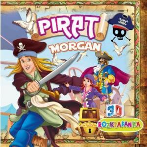 Rozkładanka 3D Pirat Morgan
