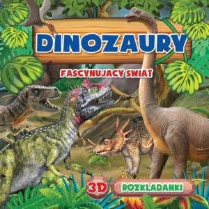 Rozkładanka 3D Dinozaur