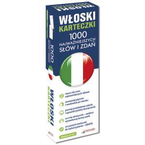 Włoski Karteczki 1000 Najważniejszych Słów i Zdań (Dla Początkujących)