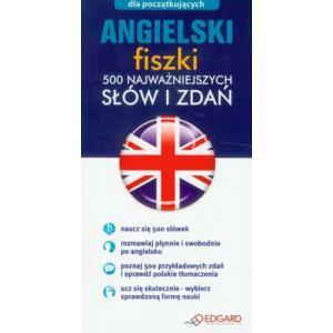Angielski Fiszki. 500 Najważniejszych Słów