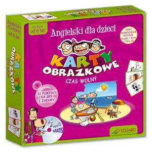 Angielski Dla Dzieci. Karty Obrazkowe. Czas Wolny