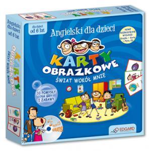 Angielski Dla Dzieci. Karty Obrazkowe. Świat Wokół Mnie