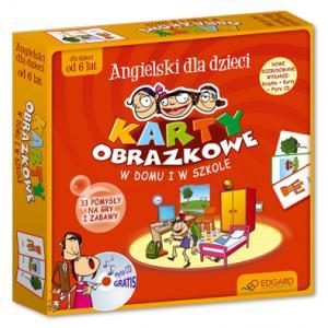 Angielski Dla Dzieci. Karty Obrazkowe. W Domu i w Szkole