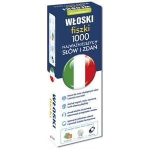 Włoski Fiszki. 1000 Najważniejszych Słów + CD