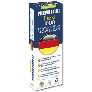 EDGARD Niemiecki Fiszki 1000 Najważniejszych Słów +CD