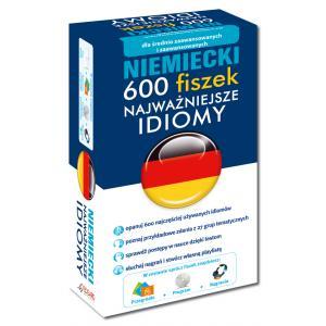 EDGARD Niemiecki Fiszki 600 najważniejszych idiomów OOP