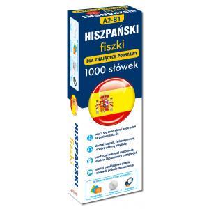 Hiszpański 1000 Słówek Dla Znających Podstawy. 1000 fiszek + CD-ROM z Programem i Nagraniami + Kolorowe Przegródki Poziom Podstawowy i Średnio Zaawansowany