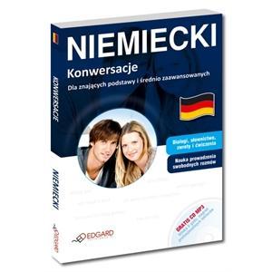 Niemiecki. Konwersacje dla Znających Podstawy i Średnio Zaawansowanych + MP3