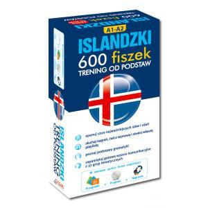 FISZKI Islandzki 600 Fiszek. Trening od Podstaw + CD