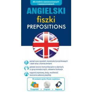 FISZKI Angielski Prepositions + CD