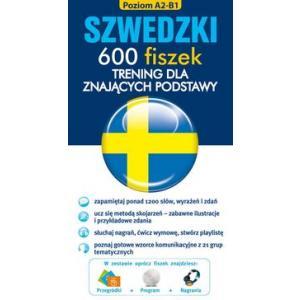 FISZKI Szwedzki 600 Fiszek. Trening dla Znających Podstawy + CD