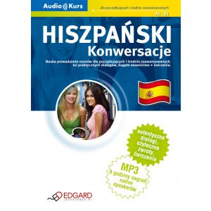 EDGARD Hiszpański - Konwersacje +CD MP3 /2014