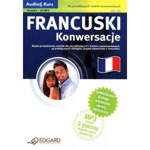 EDGARD Francuski Konwersacje z CD