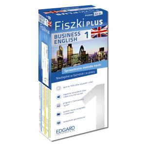 Fiszki PLUS Angielski Business English 1