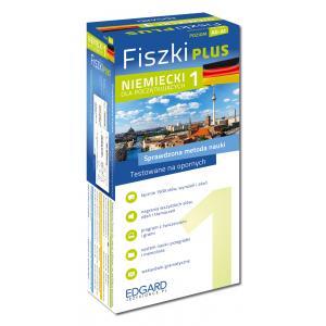 EDGARD Niemiecki Fiszki PLUS dla początkujących 1