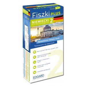 EDGARD Niemiecki Fiszki PLUS dla początkujących 2