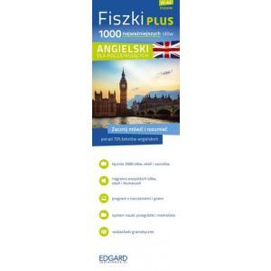 FISZKI PLUS. Język Angielski. 1000 Najważniejszych Słów Dla Początkujących + CD
