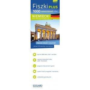 EDGARD Niemiecki Fiszki PLUS - 1000 najważniejszych słów