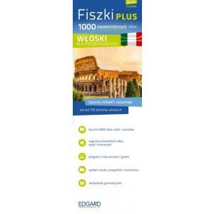 FISZKI PLUS. Język Włoski. 1000 Najważniejszych Słów Dla Początkujących + CD