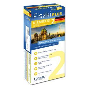 EDGARD Niemiecki - Fiszki PLUS dla średnio zaawansowanych cz.2