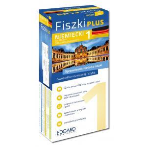 EDGARD Niemiecki - Fiszki PLUS dla średnio zaawansowanych cz.1