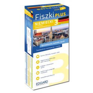 EDGARD Niemiecki Fiszki PLUS dla średnio zaawansowanych 3