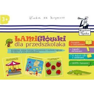 EDGARD ŁamiGłówki dla Przedszkolaka Wiedza na Horyzoncie 3+