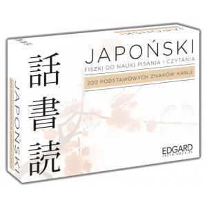 Japoński. Fiszki. Pisz i Czytaj. 200 Podstawowych Znaków Kanji