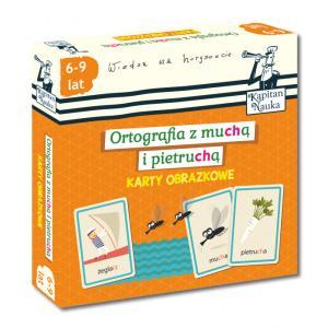 EDGARD Karty obrazkowe - Ortografia z muchą i pietruchą (6-9 lat)