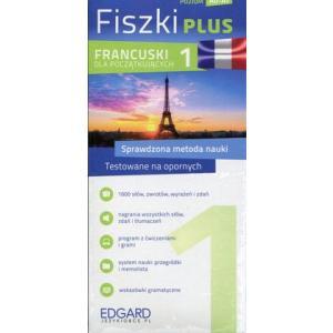 Fiszki PLUS. Język Francuski Dla Początkujących 1