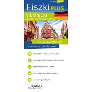 Niemiecki- Fiszki PLUS - Zwroty konwersacyjne dla początkujacych