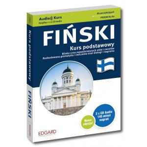 EDGARD Fiński Kurs podstawowy + CD