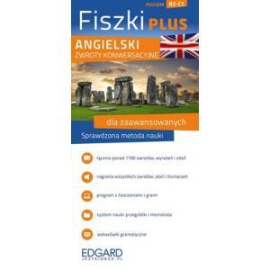 Angielski - Fiszki PLUS Zwroty konwersacyjne dla zaawansowanych