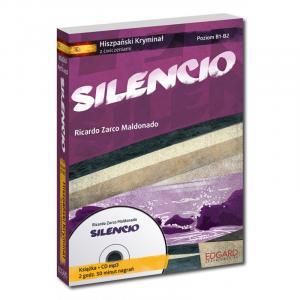 Hiszpański. Silencio. Hiszpański Kryminał z Ćwiczeniami + CD. Poziom B1-B2