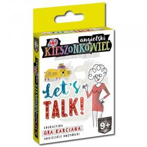 Kieszonkowiec Angielski. Let's Talk! Gra Karciana