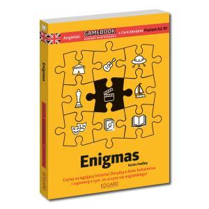 Enigmas. Angielski Gamebook z Ćwiczeniami. Poziom A2-B1