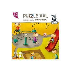 Kapitan Nauka Puzzle XXL. Plac Zabaw 2-4 lata