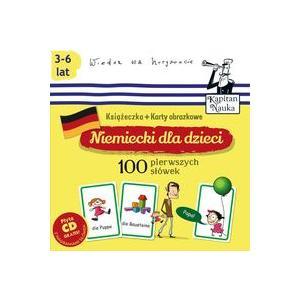 Niemiecki Dla Dzieci. Karty Obrazkowe 100 Pierwszych Słówek