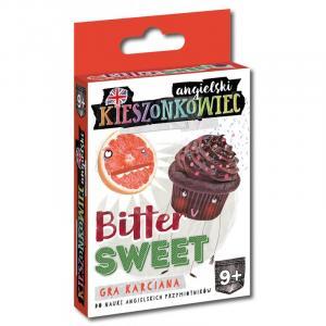 Kieszonkowiec Angielski.  Bitter Sweet. Gra Karciana do Nauki Angielskich Przymiotników